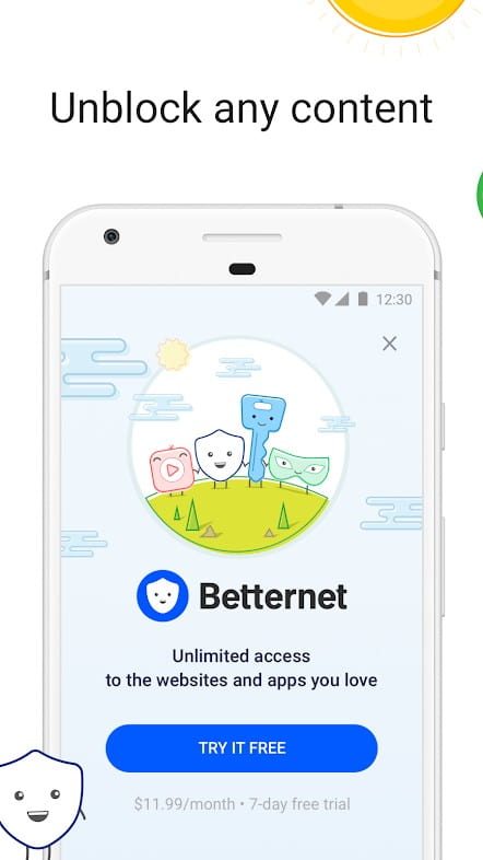 Betternet for android free download
