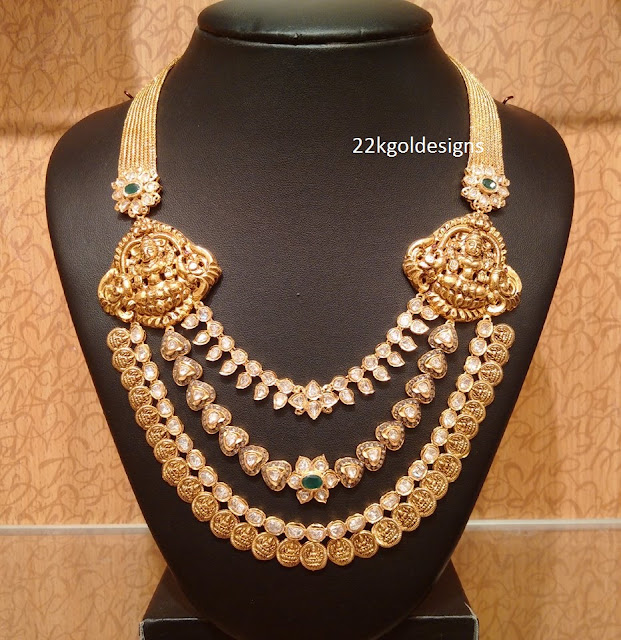 Traditional Nakshi work Long Chain
