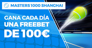 Paston promo Masters 1000 Shanghai 6-11 octubre 2019