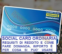 requisiti per avere la social card