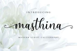 Masthina Font