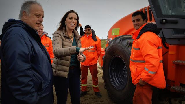 María Eugenia Vidal anunció la segunda calzada en las rutas 11 y 56