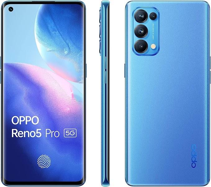 موبايل Oppo Reno 5 بسعر ٥٩٨٠ جنيه على جوميا مصر