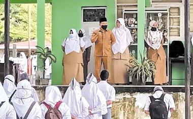 MAN 3 Padang Laksanakan Belajar Tatap Muka, Afrizal: Prokes Mutlak Dilaksanakan Semua Siswa dan Guru