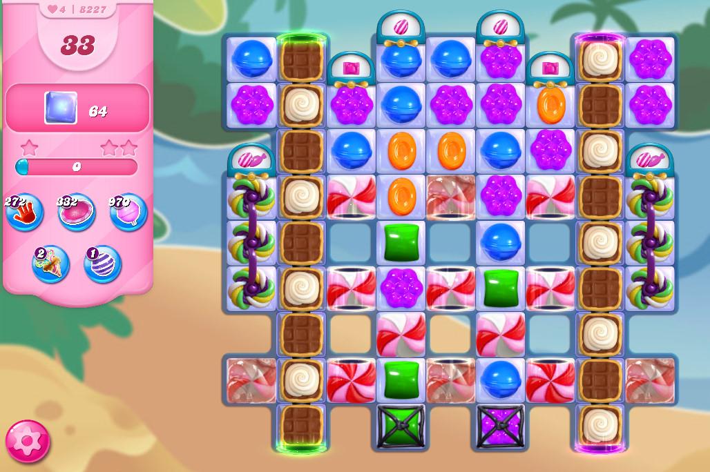 Candy Crush Saga level 8227