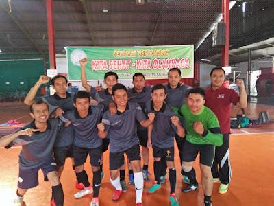 Bermaterikan 100% Pegawai, Kemenag Raih Juara 2 Turnamen Futsal PIS DIY