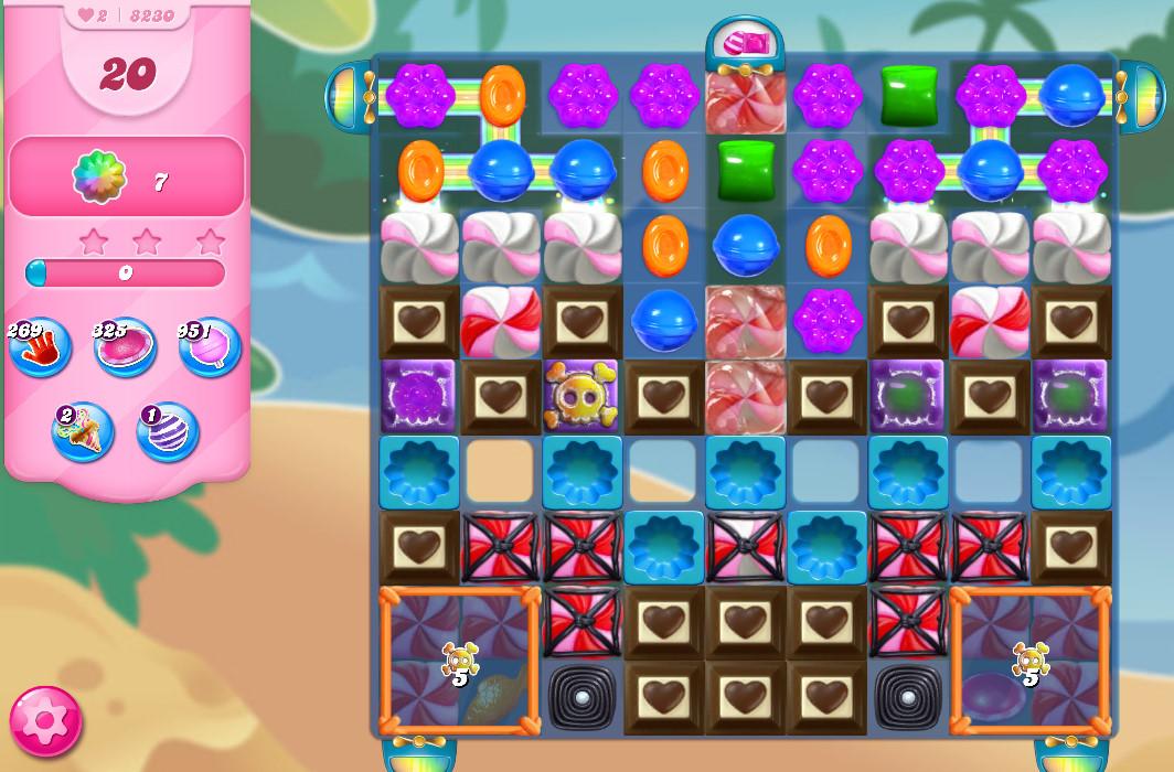 Candy Crush Saga level 8230