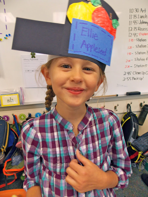 A Day In First Grade Johnny Appleseed Day