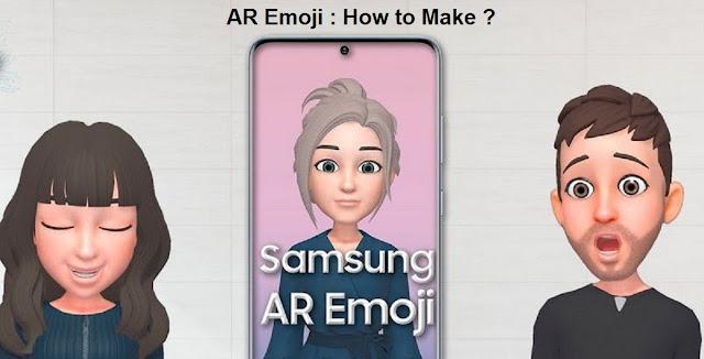 Samsung Galaxy Ar Emoji