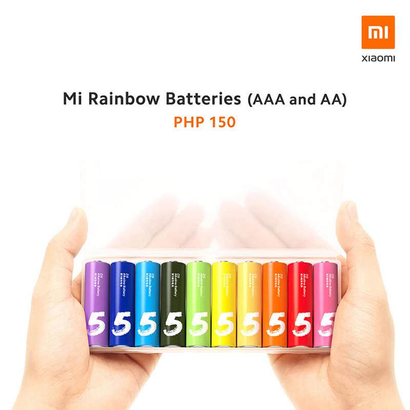 Mi Rainbow Batteries