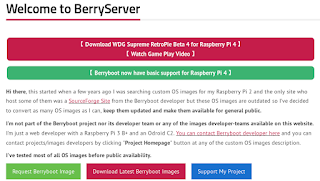 Raspberry pi 4 gets Berryboot Basic Support becomes rival for PINN