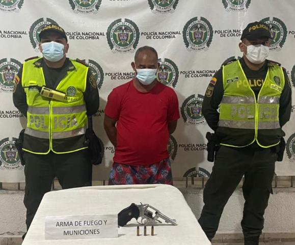 https://www.notasrosas.com/En Valledupar: Policía Cesar detiene a un hombre al portar arma de fuego ilegal