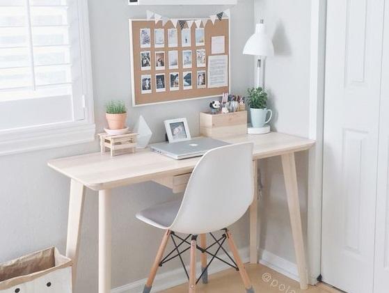 idee deco bureau travail elegant bureau magnifique ides dco with idee deco bureau travail. Black Bedroom Furniture Sets. Home Design Ideas