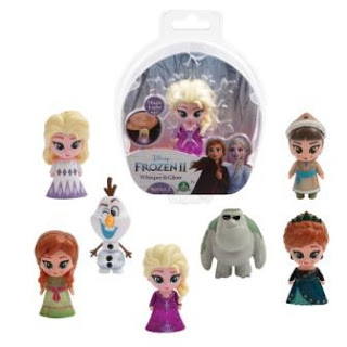 Frozen Whisper and Glow mini's ©Disney
