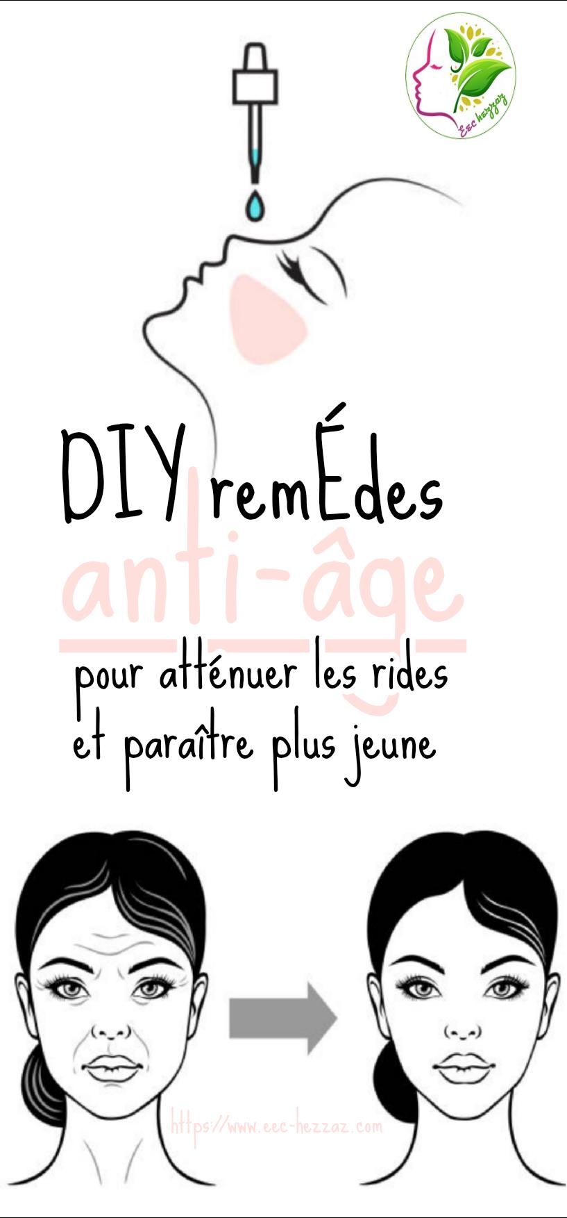 DIY remèdes anti-âge pour atténuer les rides et paraître plus jeuneDIY remèdes anti-âge pour atténuer les rides et paraître plus jeune