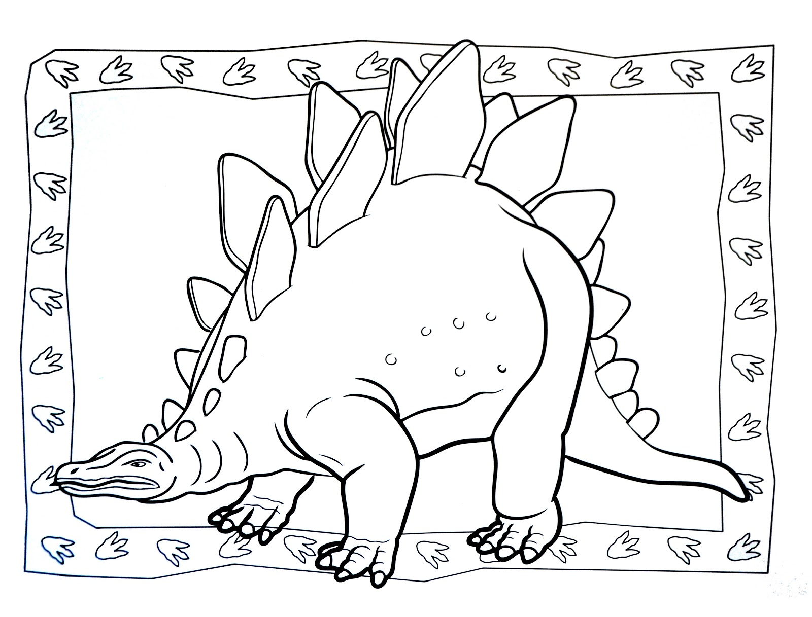 Dinosaurs coloring pages 44
