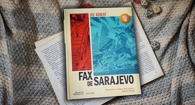 [RESENHA #710] FAX DE SARAJEVO - JOE KUBERT