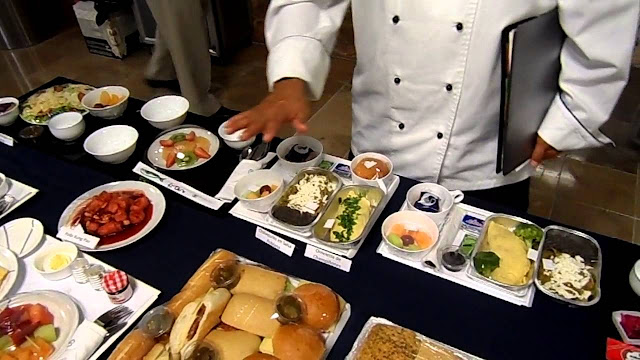 Menús comida Aeroméxico