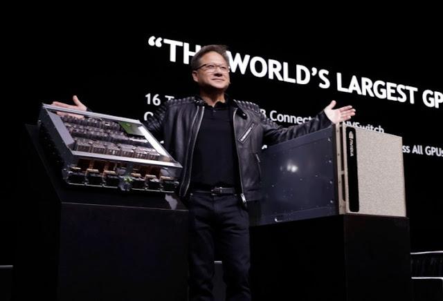 nvidia-dgx-2-32gb-tesla-v100-deep-learning-super-computer-jensen-huang