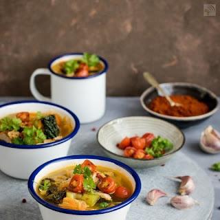 African Food Jackfruit Vegetable Stew