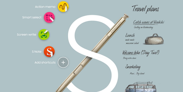 Galaxy Note 5 S Pen