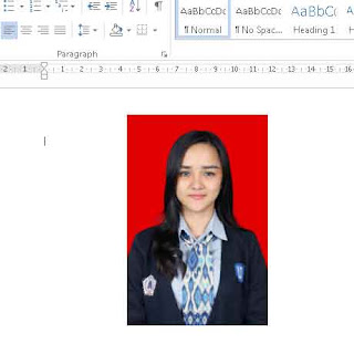 cara memasukkan atau insert foto di microsoft word