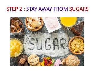 Stay away from sugars - burner belly fat