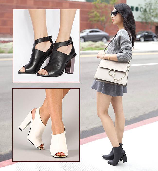 Model sepatu chunky untuk wanita berkaki besar
