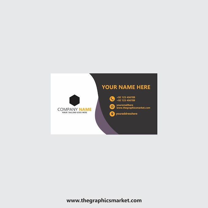 Company Business Card Design | Free Download