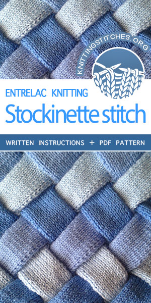 Entrelac Knitting Tutorial and Pattern