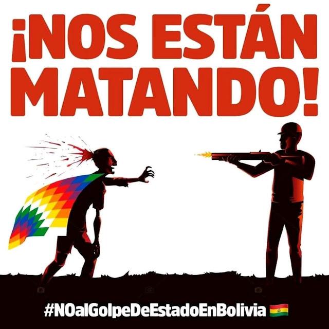 Vídeo | La dignidad de las Wiphalas contra el Golpe de Estado en Bolivia