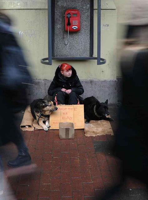 Pobreza se alastra na Rússia
