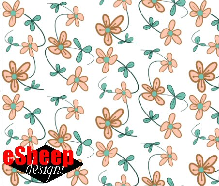 Floral Vines by eSheep Designs