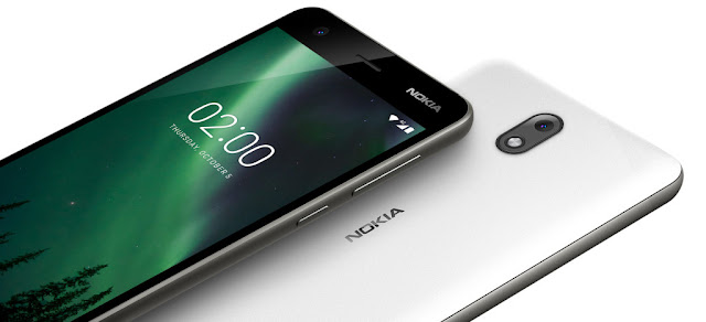 Nokia 2 Pewter/White