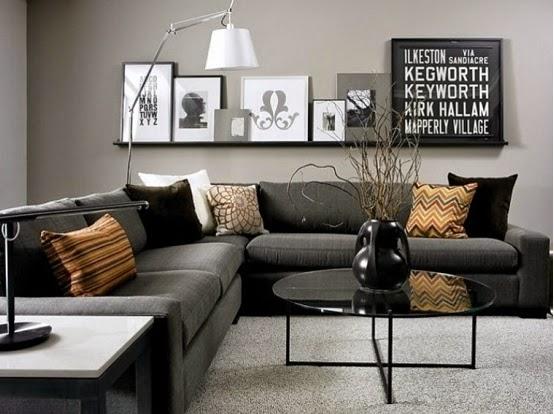 Abu Ini Adalah Rumah Dengan Warna Begitu Juga Gradasi Yang Di Gunakan Untuk Mendesain Sebuah Ruang Tamu Kecil Konsep