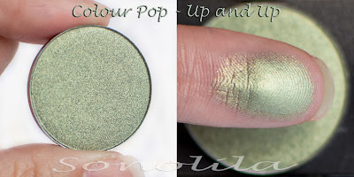 Up and up  - Pressed Eyeshadow Colour Pop