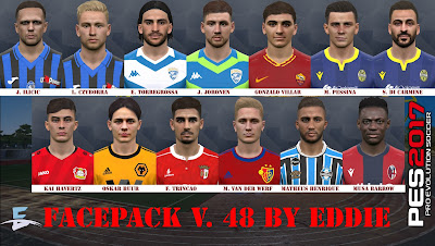 PES 2017 Facepack v48 by Eddie Facemaker