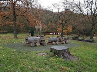 The Shibden Express park bench