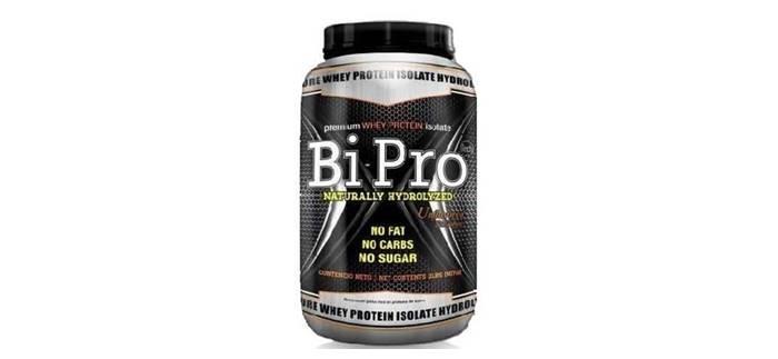 Proteína sin carbohidratos Bipro de UPN