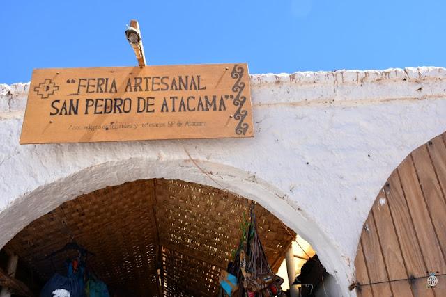 PAMIĄTKI W SAN PEDRO DE ATACAMA