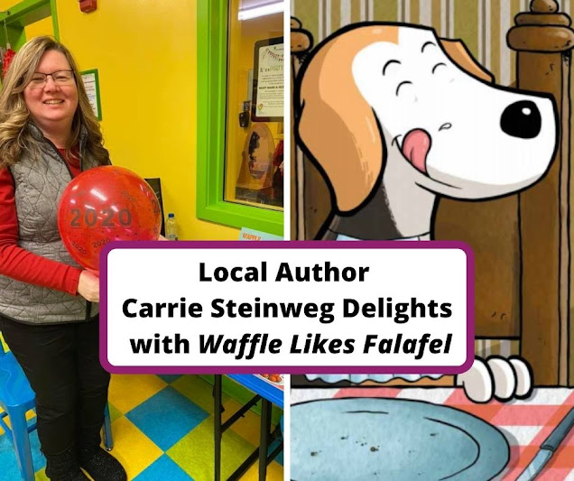 Waffle Likes Falafel by Local Author Carrie Steinweg Inspires Children to Explore Food with a Whimsical Tale