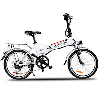 Ancheer Power Plus FOLDING Electric Mountain Bike, image, review features & specifications plus compare with other Ancheer mountain e-bikes