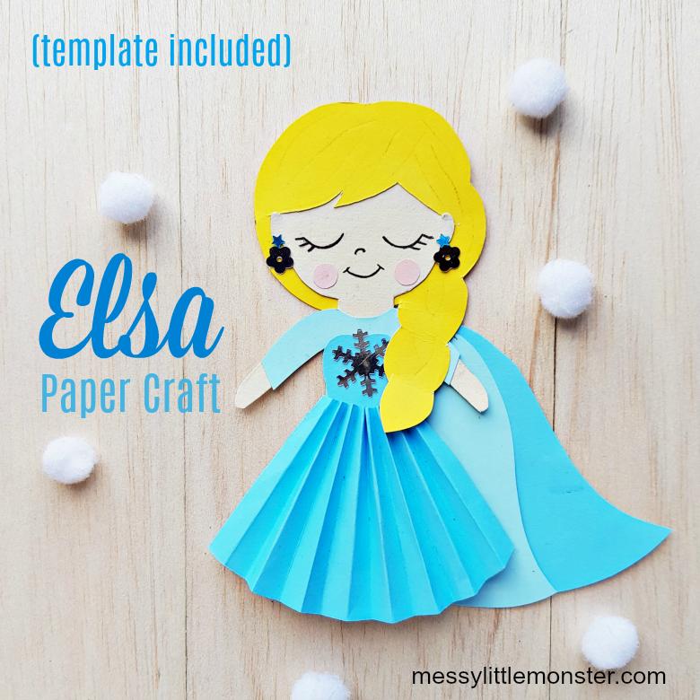 Elsa craft