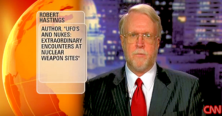 CNN's Interview With Robert Hastings After The UFO Nuke Conference