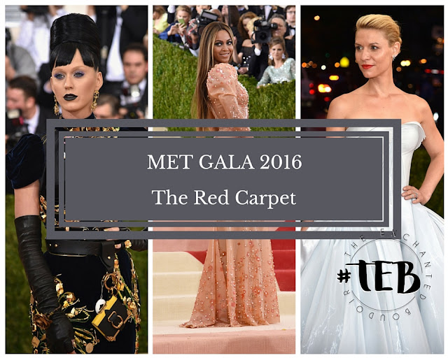MET GALA 2016 : THE RED CARPET