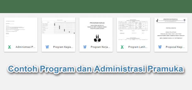 Contoh Program dan Administrasi Pramuka SMP