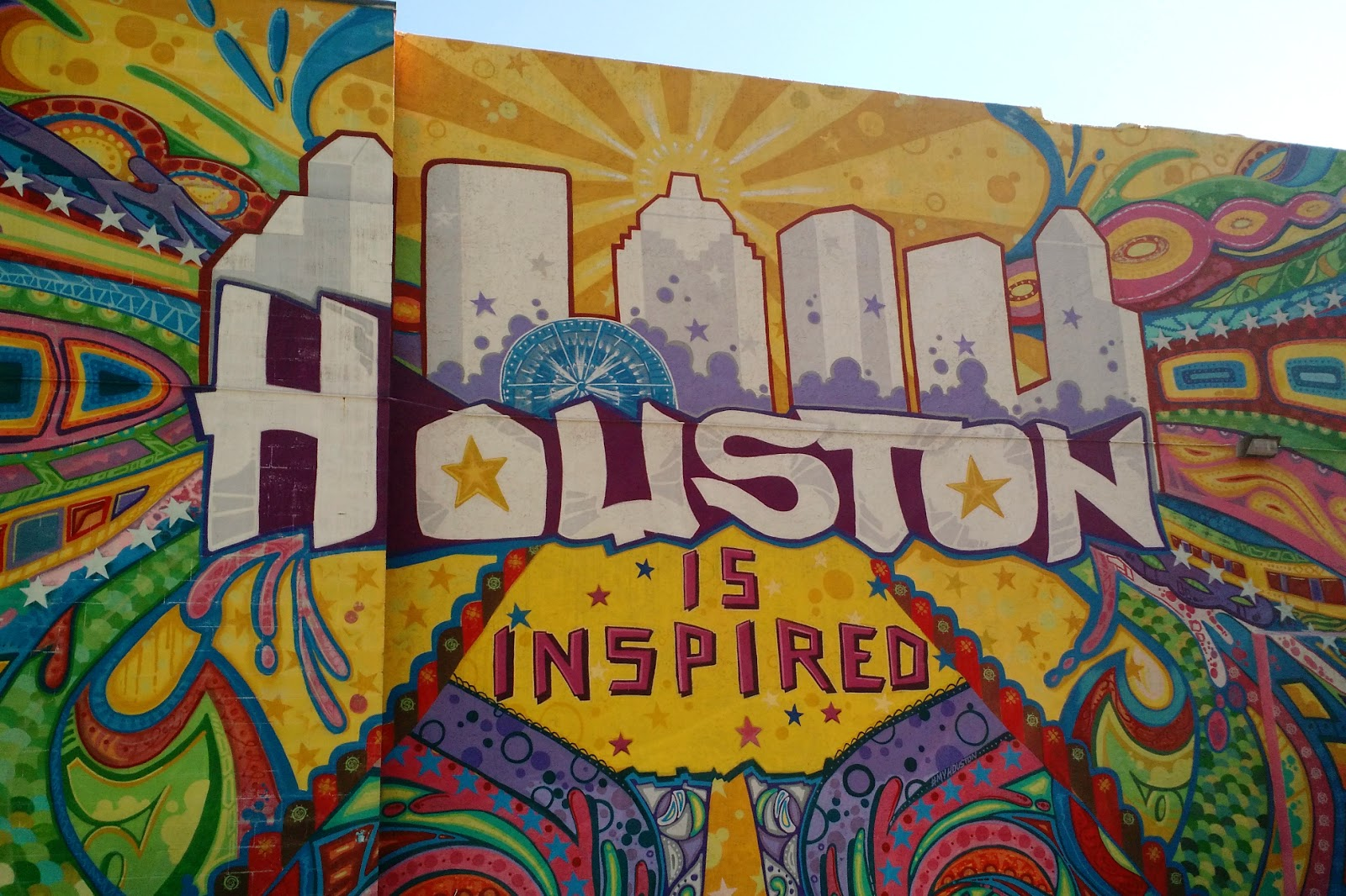 Why i love houston october 2016 for 6 blocks from downtown mural