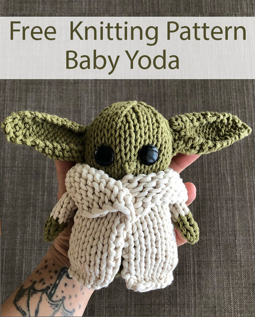 Baby Yoda - Free Knitting Pattern