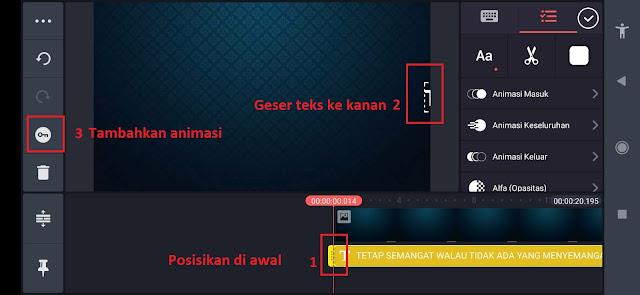 Cara Edit atau Membuat Video Teks Berjalan Viral di Tiktok dengan Kinemaster
