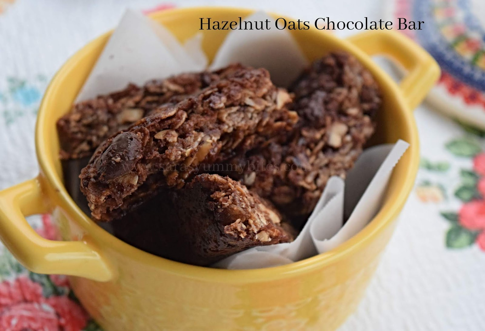 Hazelnuts Oats Chocolate Bars